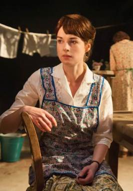 Jessica Raine starring as Beatie Bryant. By Stephen Cummiskey.