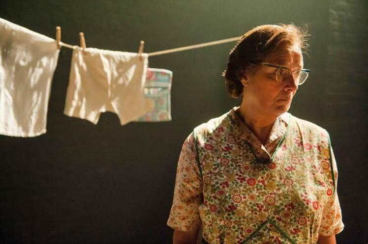 Linda Bassett as Mrs Bryant. By Stephen Cummiskey.