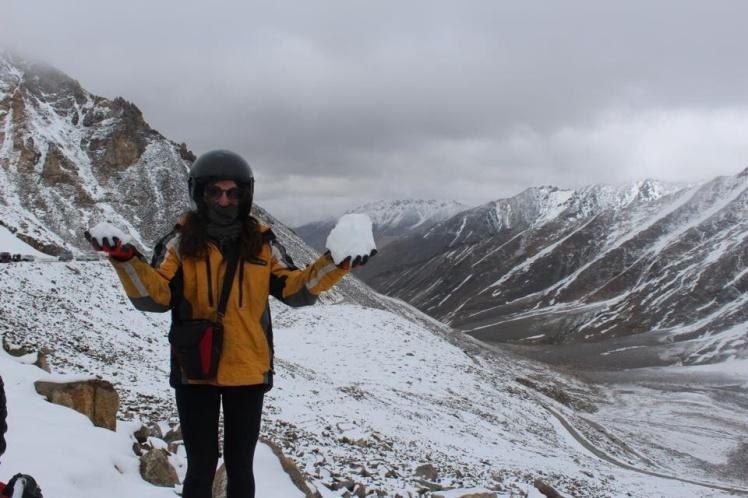 The way back up to Khardung La
