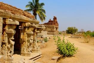 Temple Ruins, Hampi, Karnataka